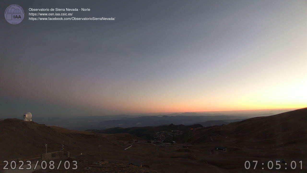 Webcam en Observatorio - Borreguiles, Sierra Nevada (Sistema Penibético)