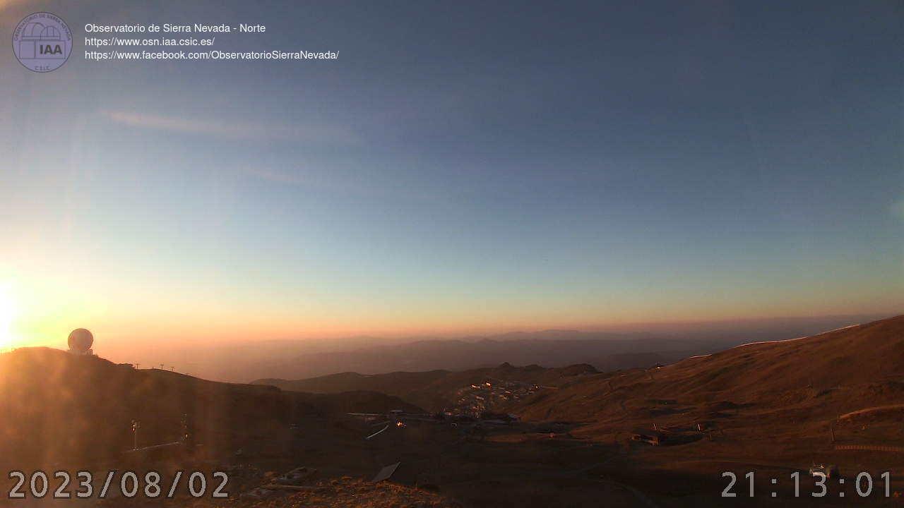 Webcam en Observatorio - Borreguiles