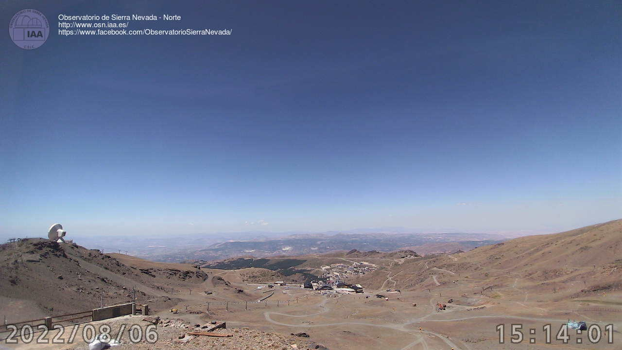 Webcam en Observatorio - Borreguiles
