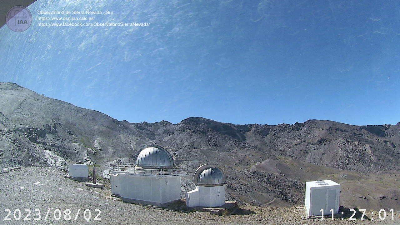 Webcam en Observatorio - Laguna